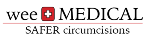 weeMedical logo, products for safer newborn circumcisions